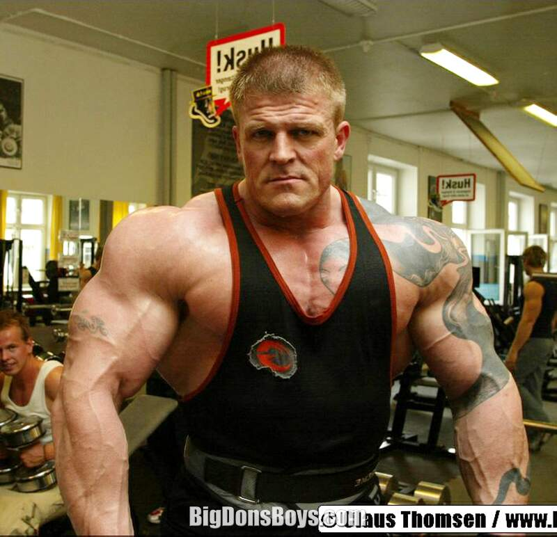 are powerlifters on steroids