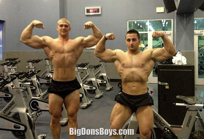 His coach Nicolas Rojas is also a competitive bodybuilder. But he is