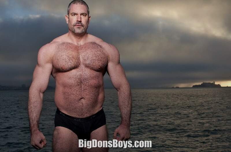 Gay big muscle