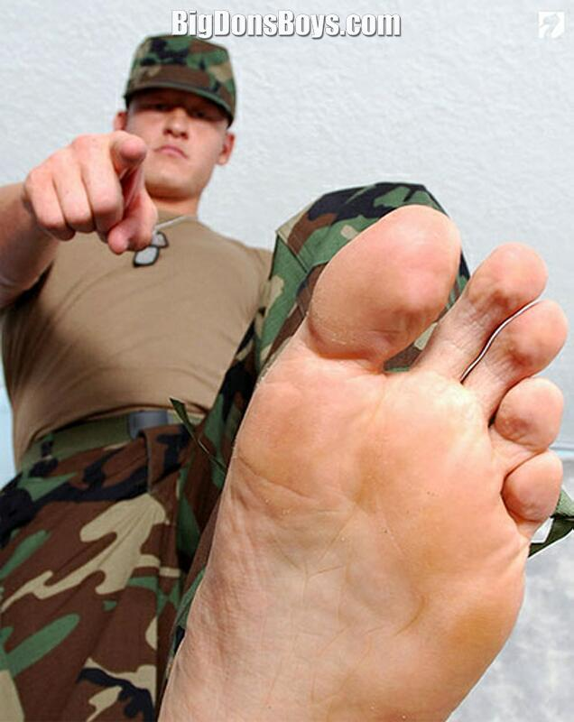Worship Giant Masters Feet