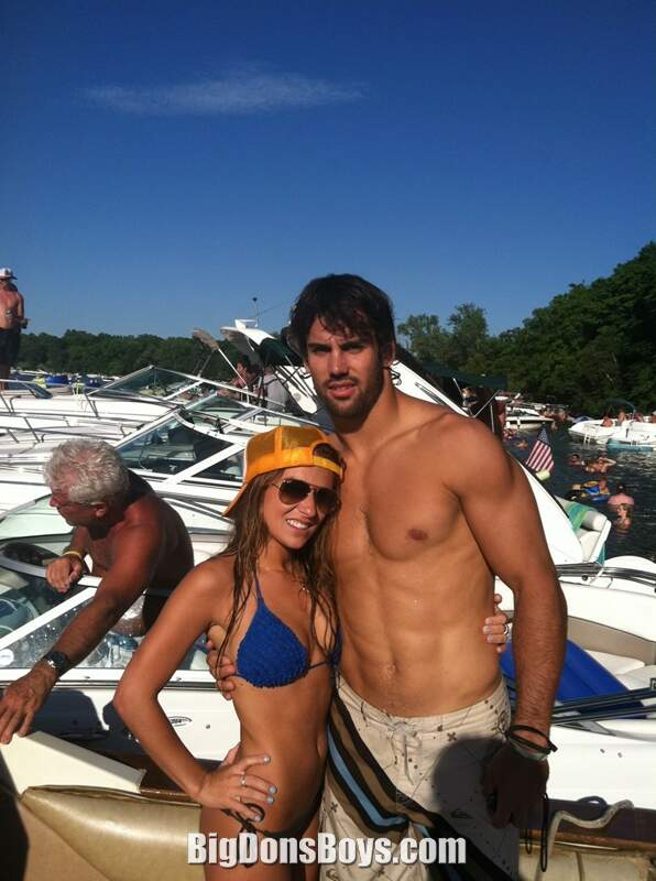Tall Football Player Eric Decker