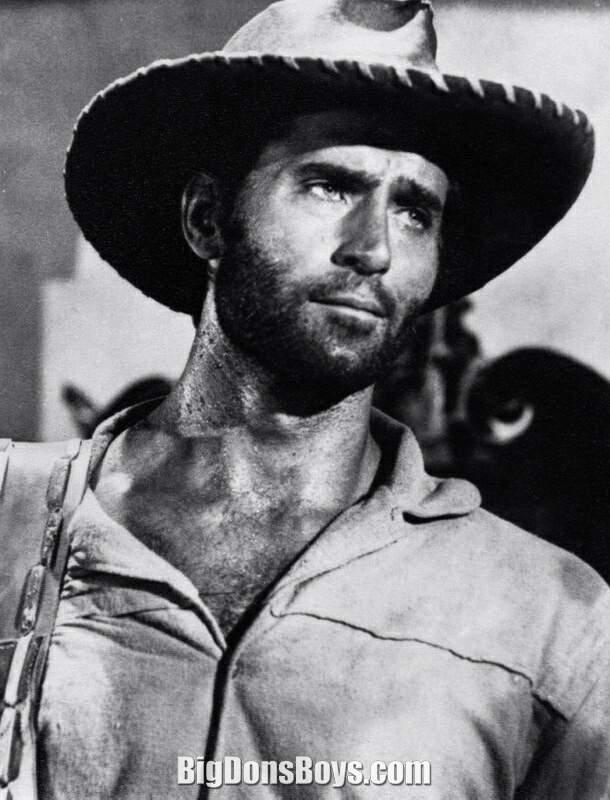 Tall actor Clint Walke...