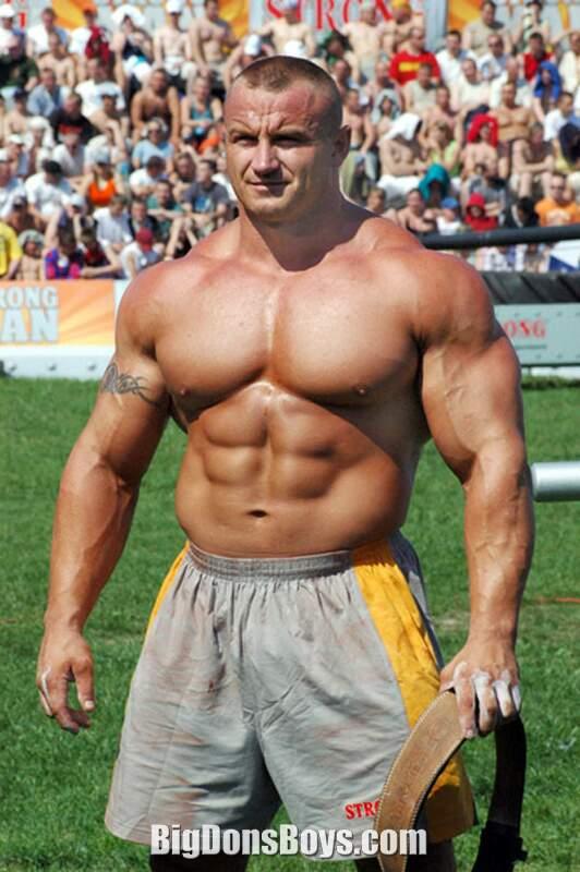 Tall Strongman Mariusz Pudzianowski Gallery Page 1