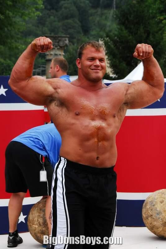 Strongman Derek Poundstone galleryDerek Poundstone