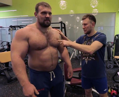 Strongman Kirill Sarychev Gallery