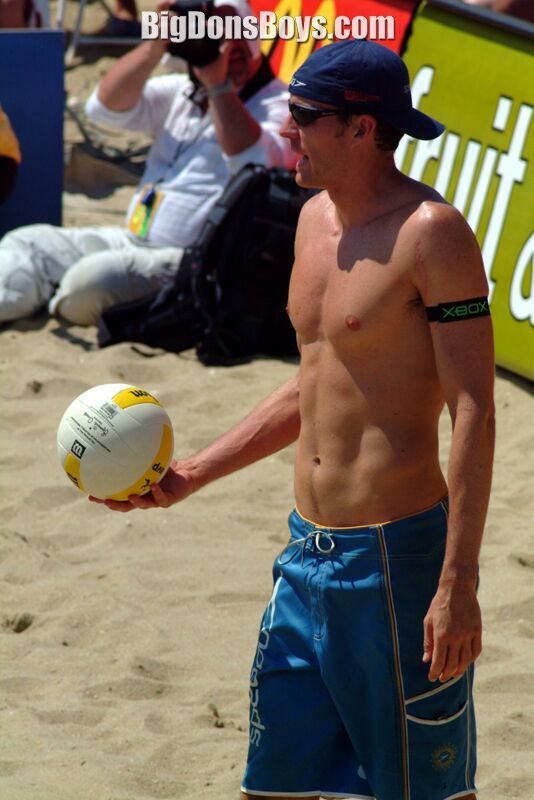 Nude Male Volleyball